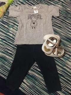 Shirt&leggings set