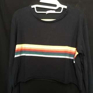 pull&bear rainbow sweater