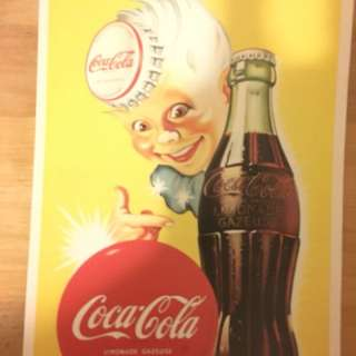 法國coca-cola復古收藏名信片