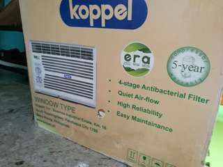 Koppel window type aircon