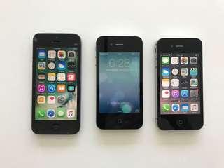 Various Working iPhones