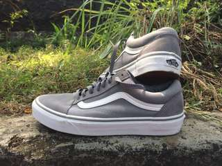 Vans Old Skool Grey Suede Second (Baru 2x pake)