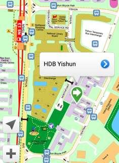 931 Yishun Ctrl Common Room for Rent