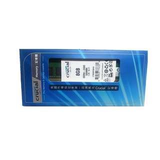 全新 未拆封 Micron 美光 Crucial DDR4 2400 8G 美光 顆粒 原廠終身保固 桌上型電腦