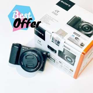 a5100 Sony - Body & Lens