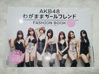 AKB48 Fashion Book with free poster