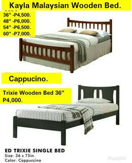 Malaysian Wooden Bed.