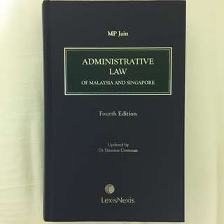Administrative Law of Malaysia and Singapore