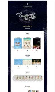 [ORDER] TWICE 2ND SPECIAL ALBUM SUMMER NIGHT