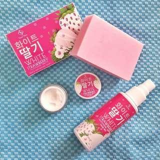 White Strawberry Triple Whitening Kit