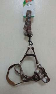 Dog leash with harness (Large)