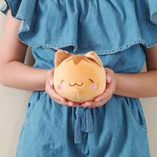 Small Cat Marunyan stuffed toy. Authentic from Japan. 15CM long