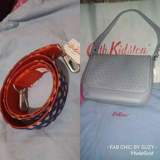 Cath Kidston Perforated leather bag
