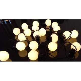 RENTAL - BIG BULB FAIRY LIGHTS