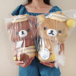 Rilakkuma Honey's Forest Harvest Festival Plush bee bear. Authentic from Japan. 32-37CM tall
