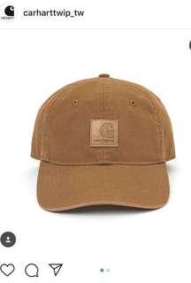 原價$1380 全新 Carhartt logo 6 panel cap 復古老帽