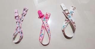 🚚 Pacifier Clip / Stroller Clip