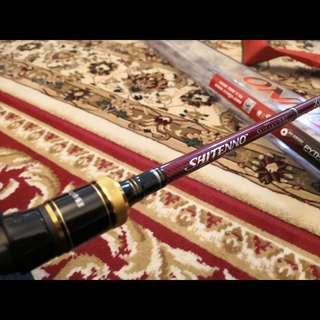 Suzaku Shintenno BaitCaster Fishing Rod (Xzoga Japan)