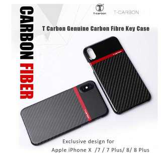 Deluxe T Carbon Genuine Carbon Iphone X /7/8 Case