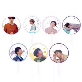 Preorder - BTS HAND FAN *each* exc.pos