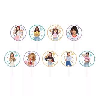 Preorder - TWICE HAND FAN *each* exc.pos