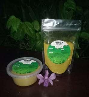 🚚 Masker n scrub natural  herbal good on sensitive  skin