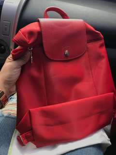 Used and authentic backpack(longchamp) very nice.:)