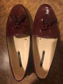 Zara 100% brand new flat shoes