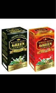 GREEN COFFEE ADRIANA QUEENz & RAYYAN KINGz
