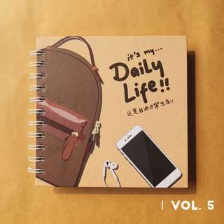 Daily Life notebook vol. 5