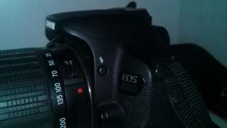 Canon Eos 700D And Lens Tamron 18 200mm