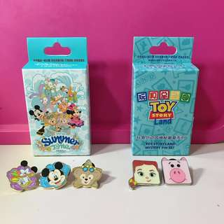 Shanghai Disney Resort Pins for sell or trade Trade(❌Duffy)