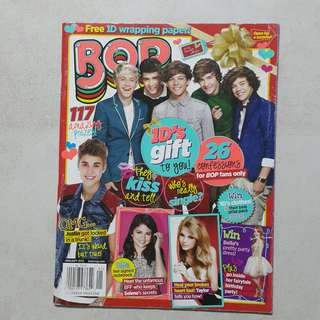 Bop magazine Christmas issue One Direction