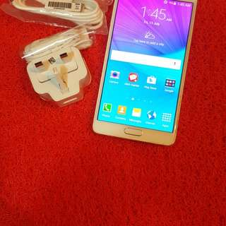 Samsung galaxy note4 32gb 3jb ram 4g open line very good condition used mobile no issues no damage full set