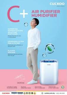 Cuckoo C+ Model 2in1 (Purifier + Humidifier)