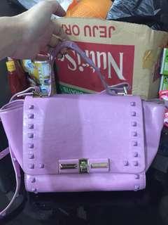 Bag Valentino pastel ungu