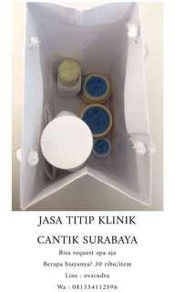 Jasa Titip Klinik Cantik Baratajaya Surabaya