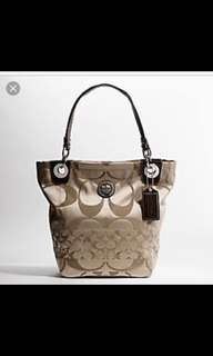 Original coach bag medium