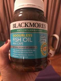 400 mini capsule Fish oil blackmores