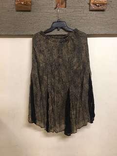 🚚 0.12折 精品設計皺折裙
