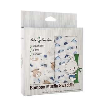Bebe Bamboo BBMCIW MuslinSwaddle Chipmunk in the Wild