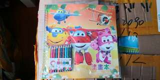 🌟INSTOCKS🌟 Kids Colorbook w Color Pencil