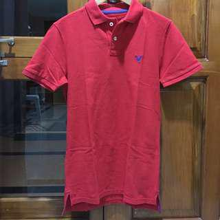 Red American Eagle Polo