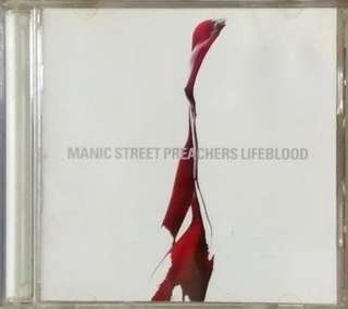 arthcd MANIC STREET PREACHERS Lifeblood CD