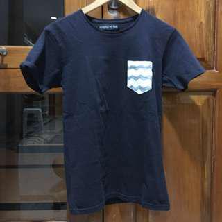 Navy Blue Premium Collection Tshirt