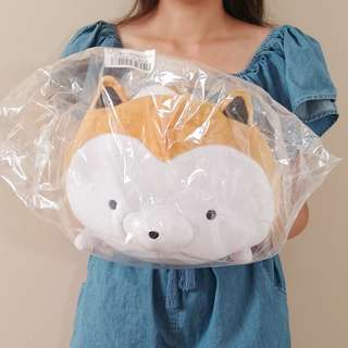 Tarushiba laying down plush. Authentic from Japan. 37CM long