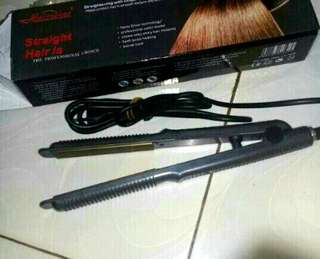 Catok rambut curly 2in1