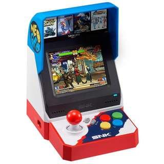 (預訂) SNK 原裝 NeoGeo Mini Neo Geo mini HDMI 懷舊遊戲 迷你手提遊戲機  (行貨)- 正過月光寶盒