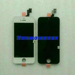 Lcd + Touchscreen + Frame Fullset Apple Iphone 5/5 Original