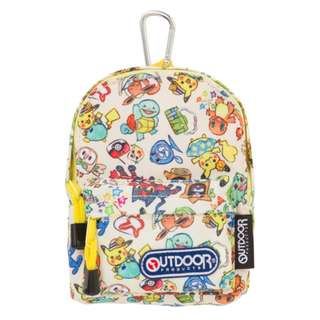 [PO] BACKPACK STYLE OUTDOOR POUCH [SUMMER LIFE] - POKEMON CENTER EXCLUSIVE